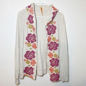 Anthropologie Saturday Sunday Floral Cardigan S
